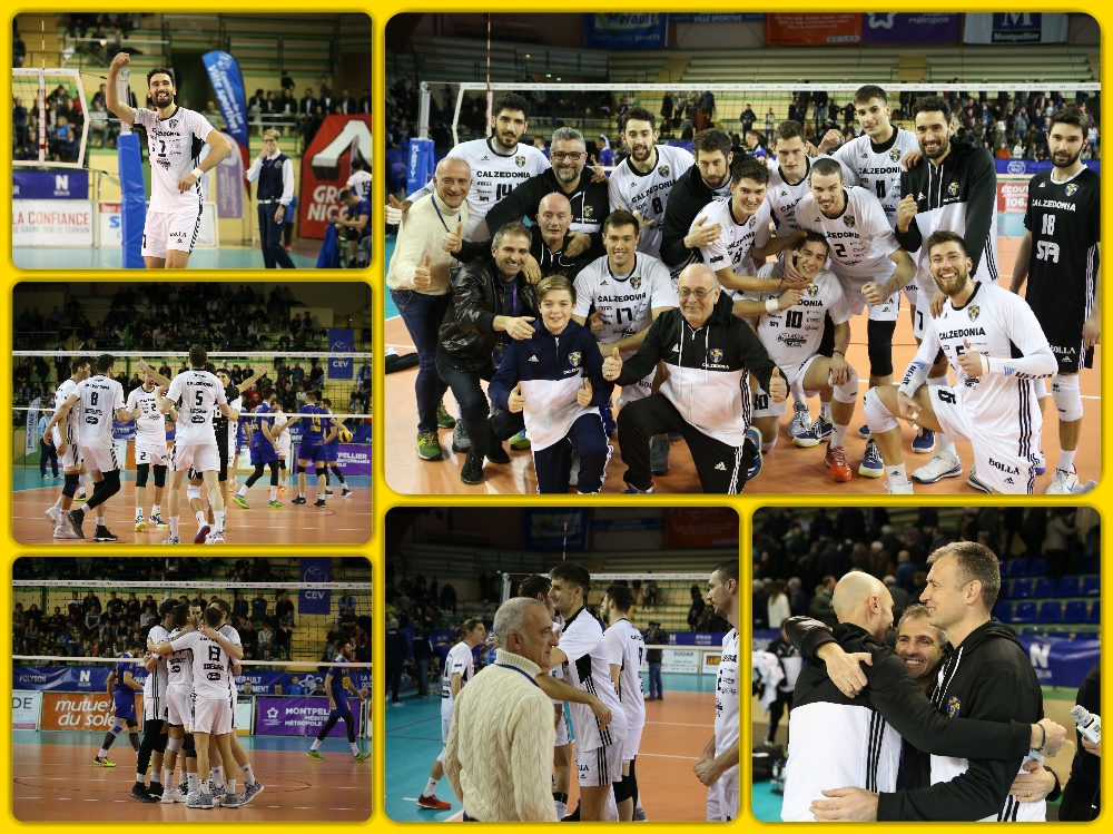 Volley maschile, CEV CUP: Verona vince in rimonta contro Montpellier